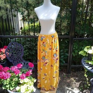 Patrons of Peace boho maxi skirt size Large